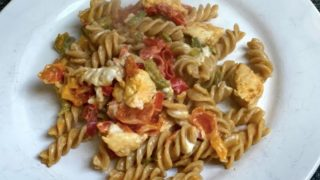 Creamy Chicken Pepper pasta