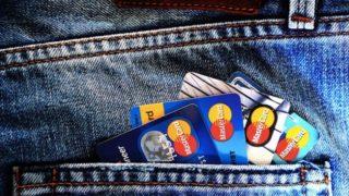 Credit card in pocket