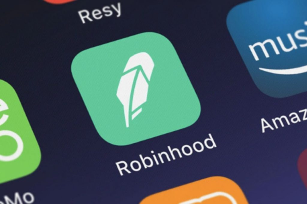 Picture of the Robin Hood app
