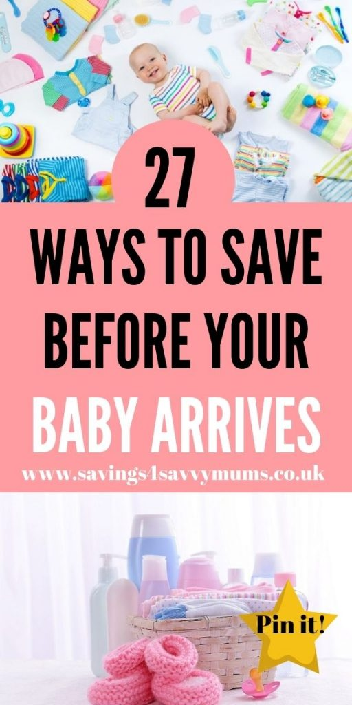 This is how to save for a baby before you go on maternity leave. We have 27 tips for all new parents to be that can help you save money by Laura at Savings 4 Savvy Mums