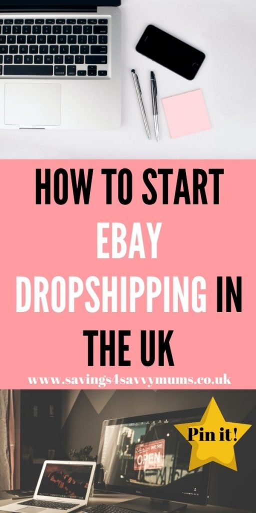 If you are looking to start eBay dropshipping in the UK then here is our step by step guide to making money at home by Laura at Savings 4 Savvy Mums