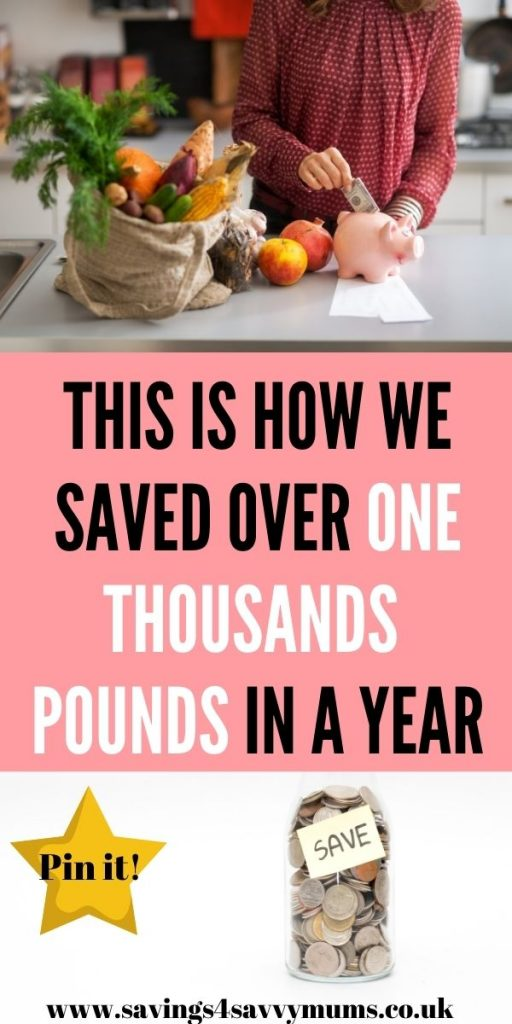 This is how to become a money saver! We talk you through how we saved over £1000 in a year with our simple tips by Laura at Savings 4 Savvy Mums