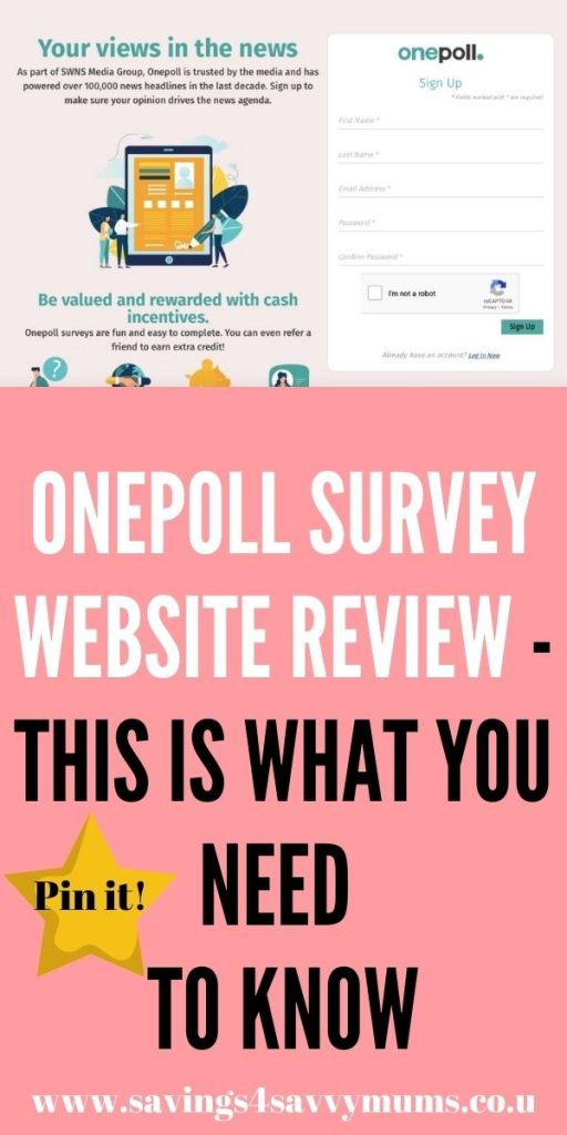 This is the best Onepoll review that walks you through how Onepoll works and you can start making money by using them for free by Laura at Savings 4 Savvy Mums