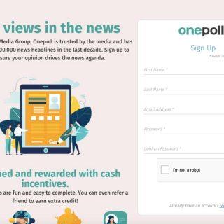 OnePoll website