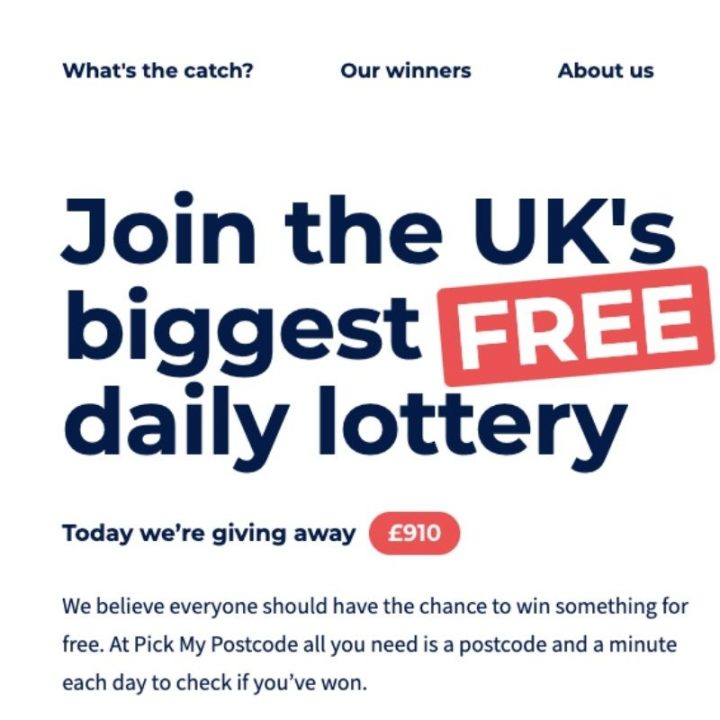 Pick My Postcode Review: This is How to Win Free Money