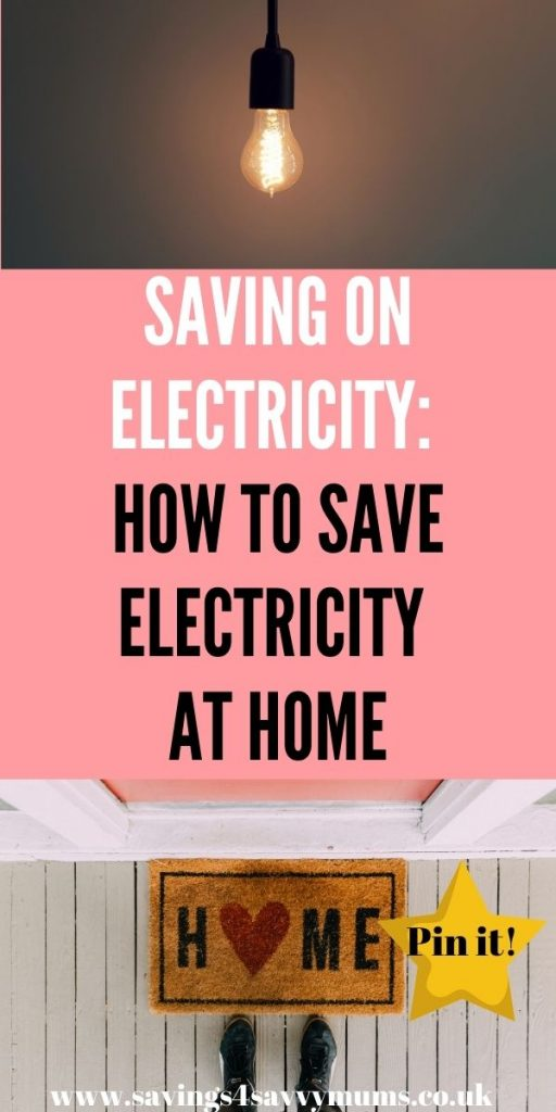 This is how to save electricity at home and save money. All these tips help you to save on your electricity bill by Laura at Savings 4 Savvy Mums