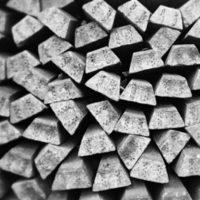 Blocks of steel