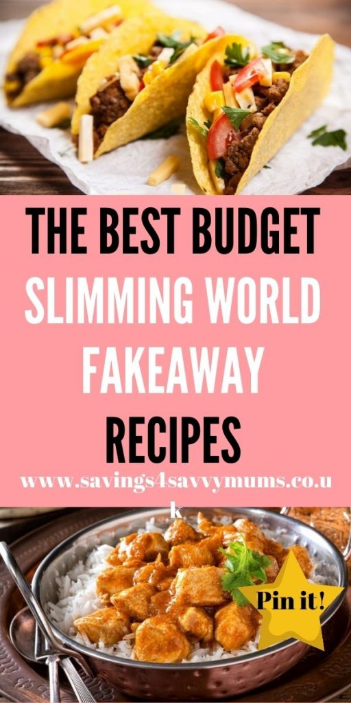 These are the best Slimming World Fakeaway recipes that will stop you from reaching for the takeaway menu and get you cooking from scratch by Laura at Savings 4 Savvy Mums