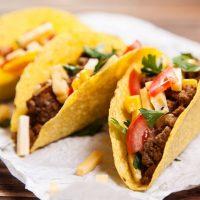 Mince tacos