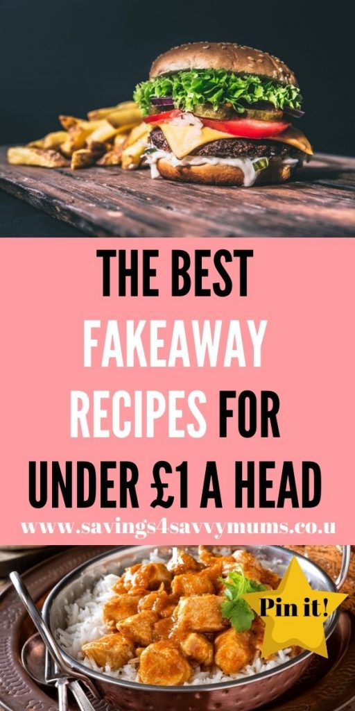 These are the best fakeaway recipes that will have you cooking at home instead of reaching for the takeaway menu by Laura at Savings 4 Savvy Mums