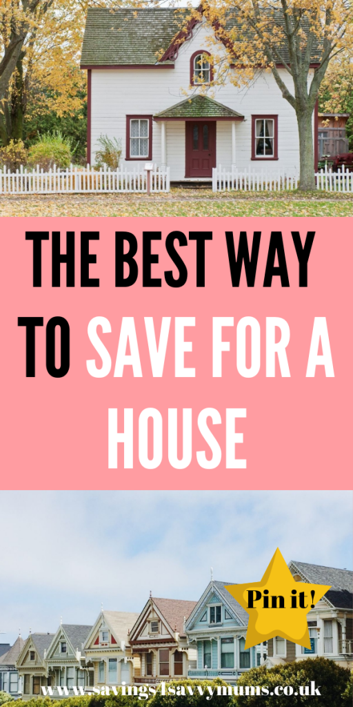 This is the best way to save for a house. You don't have to be frugal, this is more about managing your money by Laura at Savings 4 Savvy Mums #saveforahouse #moneysaving