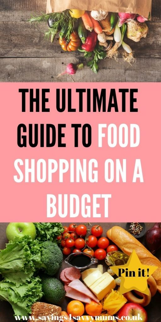 This is the ultimate guide to food shopping on a budget as a family. Buy more and keep more money in your pocket. We've added everything you need for a budget shop without being frugal by Laura at Savings 4 Savvy Mums
